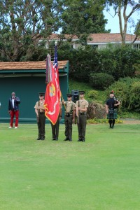 Color Guard Opening Ceremony